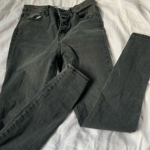 Black Ashy Skinny Jeans from Tillys